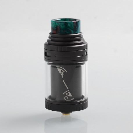 Authentic Vapefly Horus RTA Rebuildable Tank Atomizer - Gun Metal, Stainless Steel, 4ml, 25mm Diameter