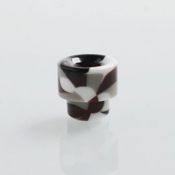 810 Replacement Drip Tip for 528 Goon / Kennedy / Battle / Reload RDA - Coffee, Resin, 17mm