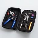 Authentic Shield Cig Shield Tool Kit for E-Cigarette DIY Coil Building - Black