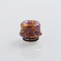 810 Replacement Drip Tip for TFV8 / TFV12 Tank / 528 Goon / Kennedy / Reload RDA - Purple, Resin, 14mm