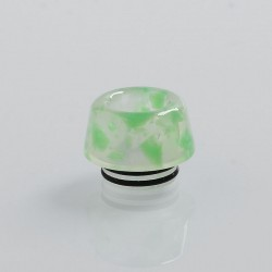 810 Replacement Drip Tip for TFV8 / TFV12 Tank / 528 Goon / Kennedy / Battle RDA - Green, Resin, 13.6mm
