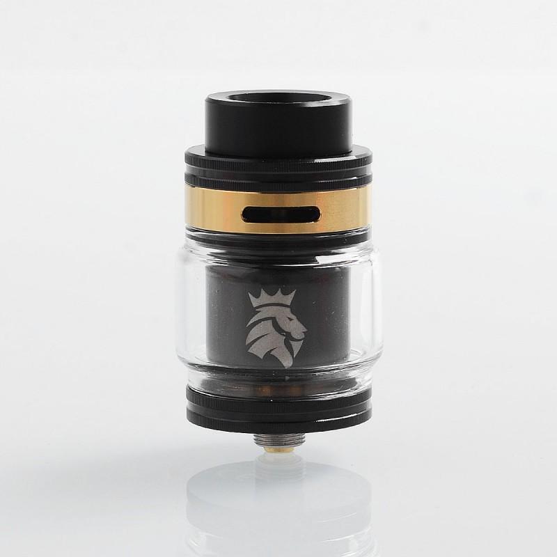 Authentic Kaees Solomon 2 Rta Black 5ml 24mm Rebuildable