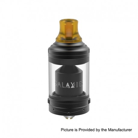 Authentic Vapefly Galaxies MTL RTA Rebuildable Tank Atomizer - Black, Stainless Steel, 5ml, 22mm Diameter