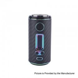 Authentic ShenRay GEO 75W TC VW Variable Wattage Box Mod - Black + Rainbow, 10~75W, 1 x 18650 / 26650