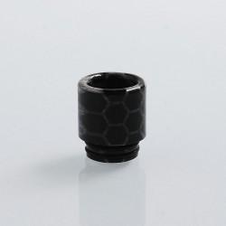 Authentic Blitz Snake Skin 810 Drip Tip for SMOK TFV8 / TFV12 Tank Atomizer - Black, Epoxy Resin, 17.7mm