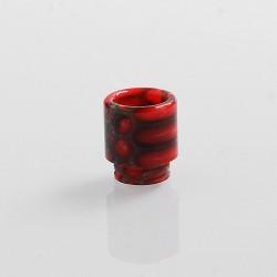 Authentic Blitz Snake Skin 810 Drip Tip for SMOK TFV8 / TFV12 Tank Atomizer - Red, Epoxy Resin, 17.7mm