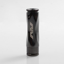 AV Gyre Slow Twist Style Hybrid Mechanical Mod - Gun Metal, Brass, 1 x 18650