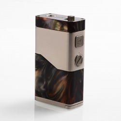 Authentic Wismec Luxotic NC 250W Box Mod - Green Resin, 2 x 18650 / 20700