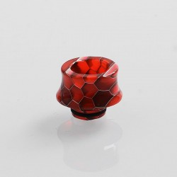 510 Replacement Drip Tip for RDA / RTA / Sub Ohm Tank Atomizer - Red, Resin, 13mm