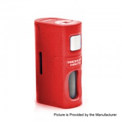 Authentic ThunderHead Creations THC Thunder Storm BF Squonker Mechanical Box Mod - Red, PA-GF, 8ml, 1 x 18650 / 20700 / 21700