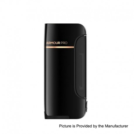 Authentic Vaporesso Armour Pro 100W TC VW Variable Wattage Box Mod - Black, 5~100W, 1 x 18650 / 20700 / 21700