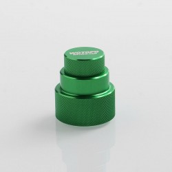 Authentic Wotofo Easy Fill Squonk Cap for 60ml E-juice Bottle / BF Squonk Box Mod - Green, Aluminum