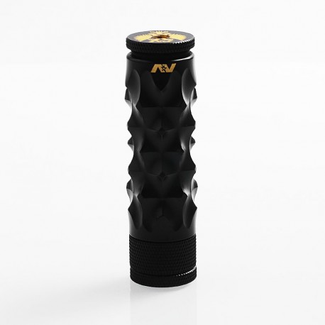 AV Medieval Gyre Style Hybrid Mechanical Mod - Black, Brass, 1 x 18650