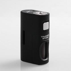 Authentic ThunderHead Creations THC Thunder Storm BF Squonker Mechanical Box Mod - Black, PA-GF, 8ml, 1 x 18650 / 20700 / 21700