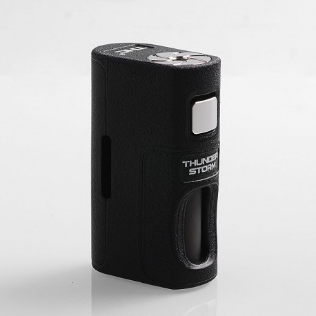 Authentic ThunderHead Creations THC Thunder Storm BF Squonker Mechanical Box Mod - Black, PPS, 8ml, 1 x 18650 / 20700 / 21700