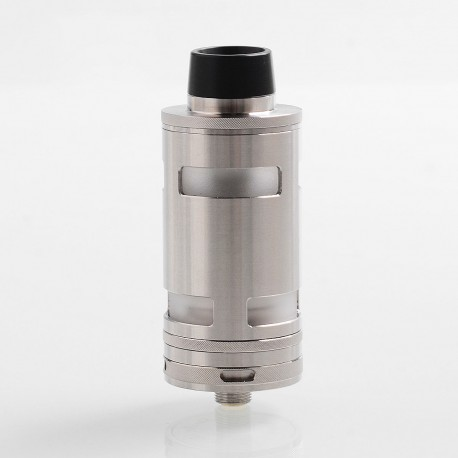 ShenRay SRG V4 Style RTA Rebuildable Tank Atomizer - Silver, 316 Stainless Steel, 5ml, 25mm Diameter