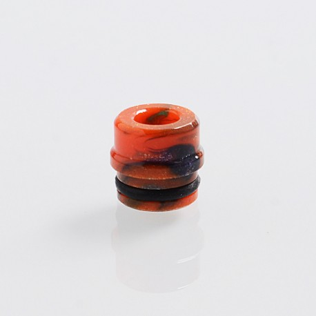 510 Replacement Drip Tip for RDA / RTA / Sub Ohm Tank Atomizer - Orange, Resin, 9.1mm