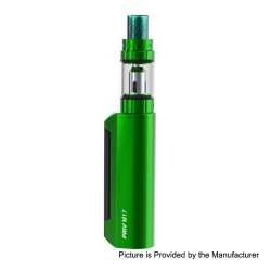 Authentic SMOKTech SMOK Priv M17 60W 1200mAh Mod + Priv M17 Tank Starter Kit - Green, 2ml, 0.6 Ohm