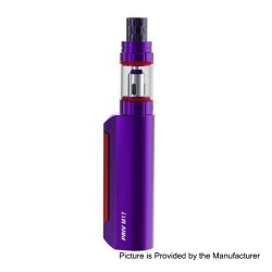 Authentic SMOKTech SMOK Priv M17 60W 1200mAh Mod + Priv M17 Tank Starter Kit - Purple, 2ml, 0.6 Ohm