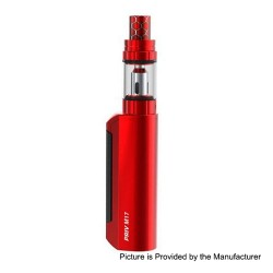 Authentic SMOKTech SMOK Priv M17 60W 1200mAh Mod + Priv M17 Tank Starter Kit - Red, 2ml, 0.6 Ohm
