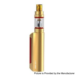 Authentic SMOKTech SMOK Priv M17 60W 1200mAh Mod + Priv M17 Tank Starter Kit - Prim Gold, 2ml, 0.6 Ohm