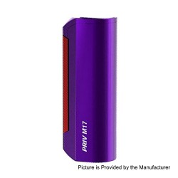Authentic SMOKTech SMOK Priv M17 60W 1200mAh Box Mod - Purple