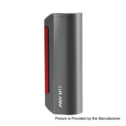 Authentic SMOKTech SMOK Priv M17 60W 1200mAh Box Mod - Gun Metal