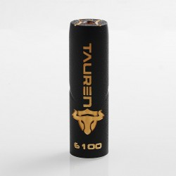 Authentic ThunderHead Creations THC Tauren Mechanical Mod - Black, Brass, 1 x 18650 / 20700 / 21700
