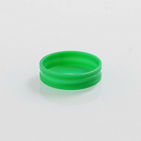 Decorative Adapter Ring for 24mm RDA / RTA / Sub Ohm Atomizer - Green, POM, 27mm Outer Diameter