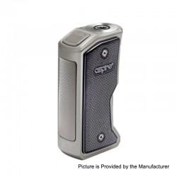 Authentic Aspire Feedlink Revvo Squonk Box Mod - Gun metal + Chrome, 1 x 18650, 7ml