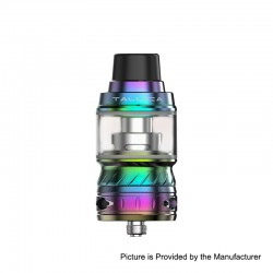 Authentic Tesla Tallica TS-S Sub Ohm Tank Clearomizer - 7-Color, Stainless Steel, 6ml, 26mm Diameter, 0.2 ohm (80~140W)