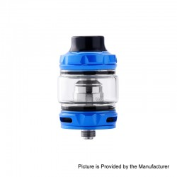 Authentic Wotofo Flow Pro SubTank Sub Ohm Tank Clearomizer - Blue, Stainless Steel, 5ml, 25mm Diameter, 0.18 Ohm