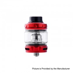Authentic Wotofo Flow Pro SubTank Sub Ohm Tank Clearomizer - Red, Stainless Steel, 5ml, 25mm Diameter, 0.18 Ohm