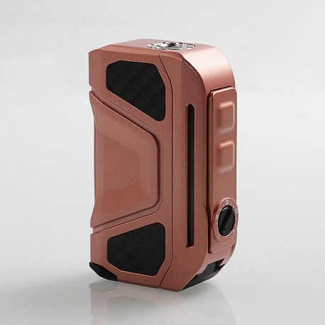 Authentic Benecig Killer 260W VW Variable Wattage Box Mod - Rose Gold, Zinc Alloy + Carbon Fiber, 2 x 18650