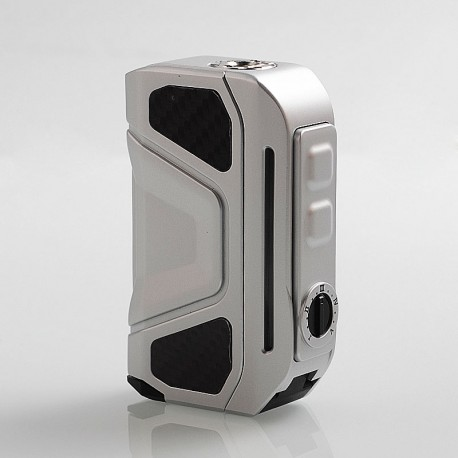 Authentic Benecig Killer 260W VW Variable Wattage Box Mod - Silver, Zinc Alloy + Carbon Fiber, 2 x 18650