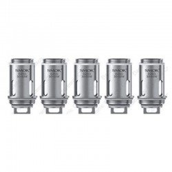 Authentic SMOKTech SMOK Replacement Coil Head for Vape Pen Tank / Vape Pen 22 / Vape Pen Plus Kit - 0.25 Ohm (30~50W) (5 PCS)