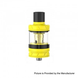 Authentic Smoant Talos V4 Sub Ohm Tank Clearomizer - Yellow, Stainless Steel + Quartz Glass, 3ml, 24mm Diameter