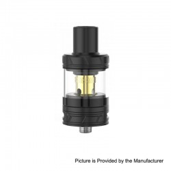 Authentic Smoant Talos V4 Sub Ohm Tank Clearomizer - Black, Stainless Steel + Quartz Glass, 3ml, 24mm Diameter
