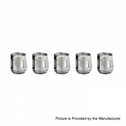 Authentic THC Replacement Coil Head for Thunder Storm Kit / TFV8 Sub Ohm Tank Clearomizer - 0.6 Ohm (20~60W) (5 PCS)