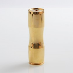 Caliber Style Hybrid Mechanical Mod - Brass, Brass, 1 x 18650