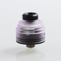 Authentic GAS Mods G.R.1 GR1 RDA Rebuildable Dripping Atomizer w/ BF Pin - Purple, Stainless Steel + PMMA, 22mm Diameter