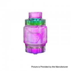 Authentic Vandy Vape Triple 2 RTA Rebuildable Tank Atomizer - Rainbow, Stainless Steel, 7ml, 28mm Diameter