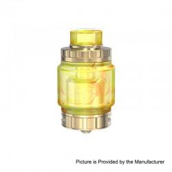 Authentic Vandy Vape Triple 2 RTA Rebuildable Tank Atomizer - Gold, Stainless Steel, 7ml, 28mm Diameter