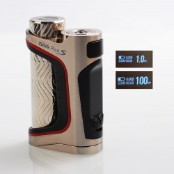 Authentic Eleaf iStick Pico S 100W TC VW Variable Wattage Box Mod - Silver, 1~100W, 1 x 18650 / 21700