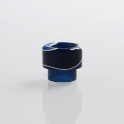 810 Replacement Drip Tip for Apocalypse Style RDA - Dark Blue, Resin, 14.6mm