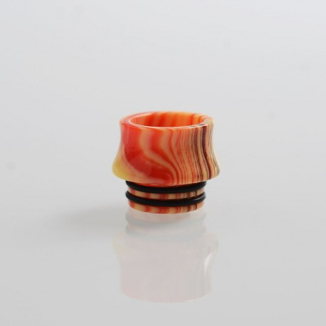 Replacement Drip Tip for Council of Vapor Vengeance Tank Atomizer - Red, Resin, 13mm