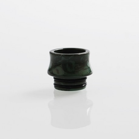 Replacement Drip Tip for Council of Vapor Vengeance Tank Atomizer - Green, Resin, 13mm