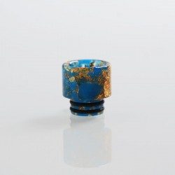 510 Replacement Drip Tip for RDA / RTA / Sub Ohm Tank Atomizer - Blue, Resin, 12.7mm