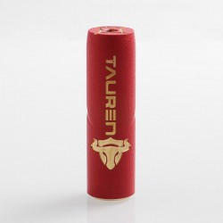 Authentic ThunderHead Creations THC Tauren Mechanical Mod - Red, Brass, 1 x 18650 / 20700 / 21700