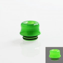 810 Color Changing Drip Tip for TFV8 / TFV12 Tank / 528 Goon / Kennedy / Reload RDA - Green, Resin, 14mm